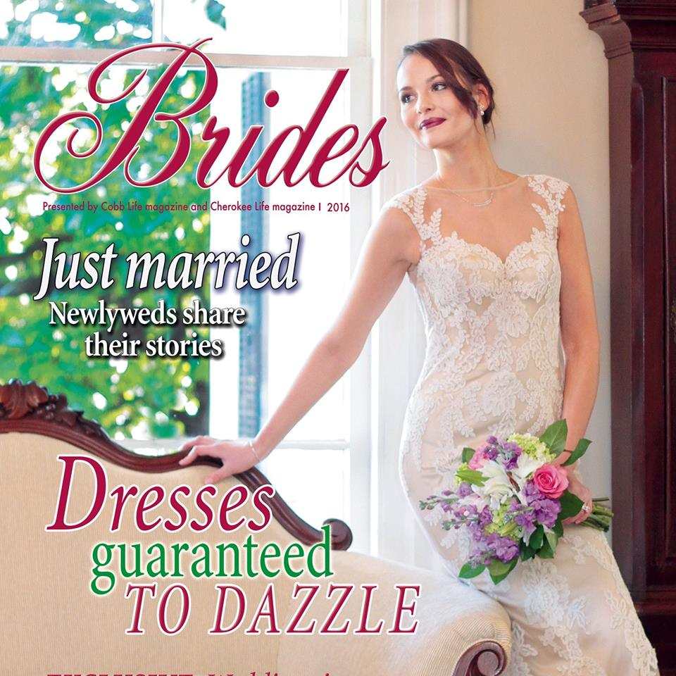 bridal mag cover cobb life