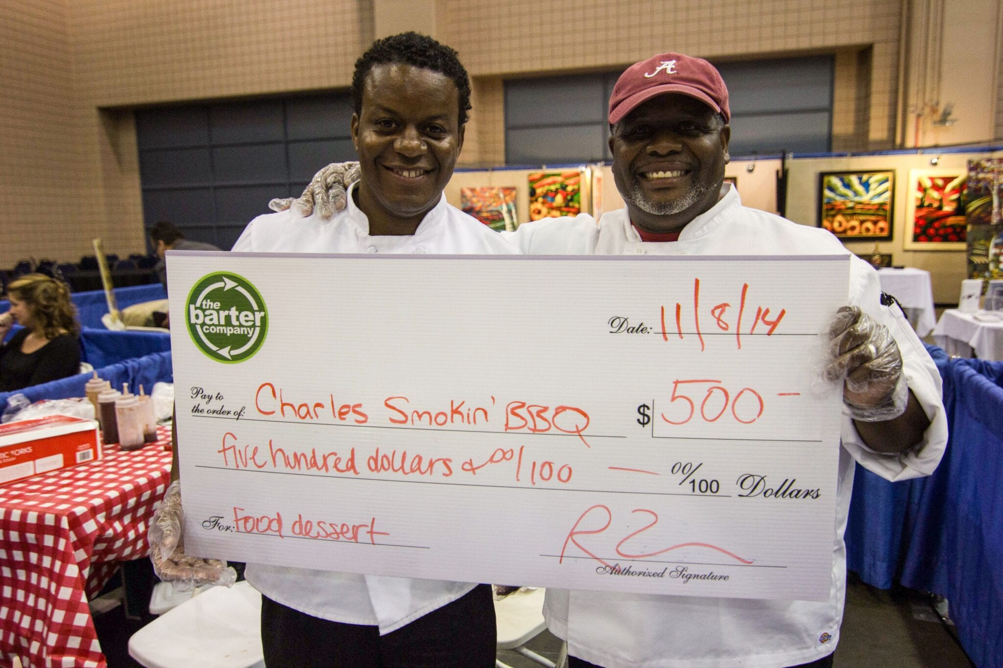 Charles Smokin BBQ Wins Food Contest